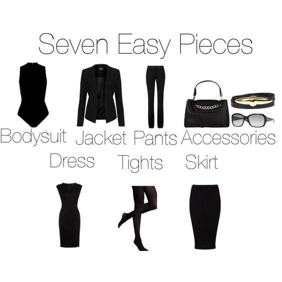 """Koncepcja szafy kapsułowej została spopularyzowana przez amerykańską projektantkę Donnę Karan w 1985 roku, kiedy wydała kolekcję seven easy pieces (""""7 łatwych kawałków"""")."""